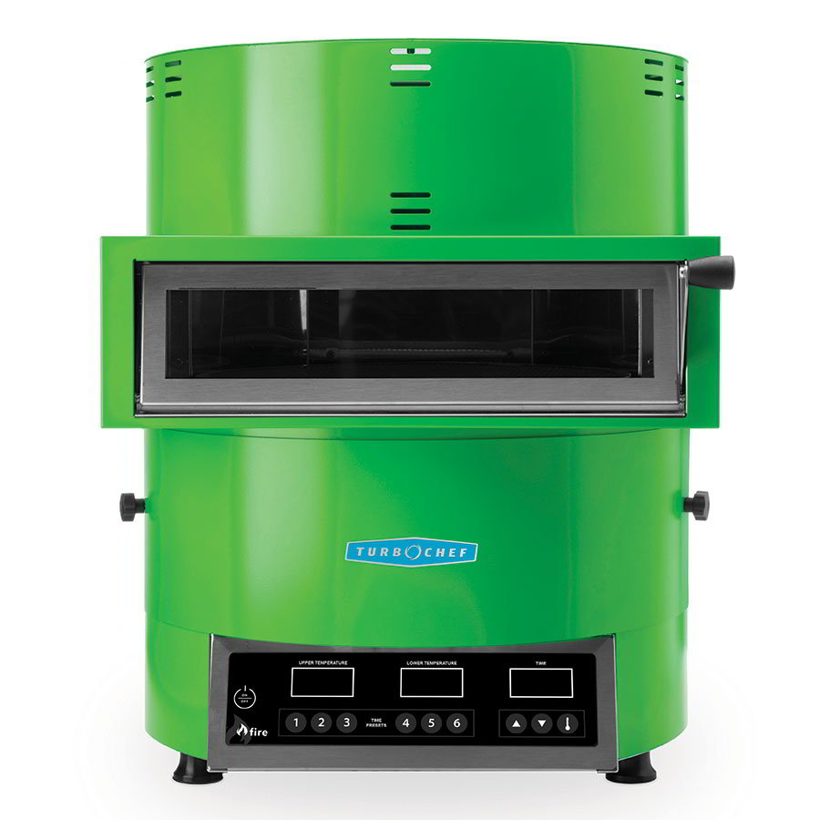 TurboChef FIRE Countertop Pizza Oven - Single Deck, 208-240v/1ph, Green