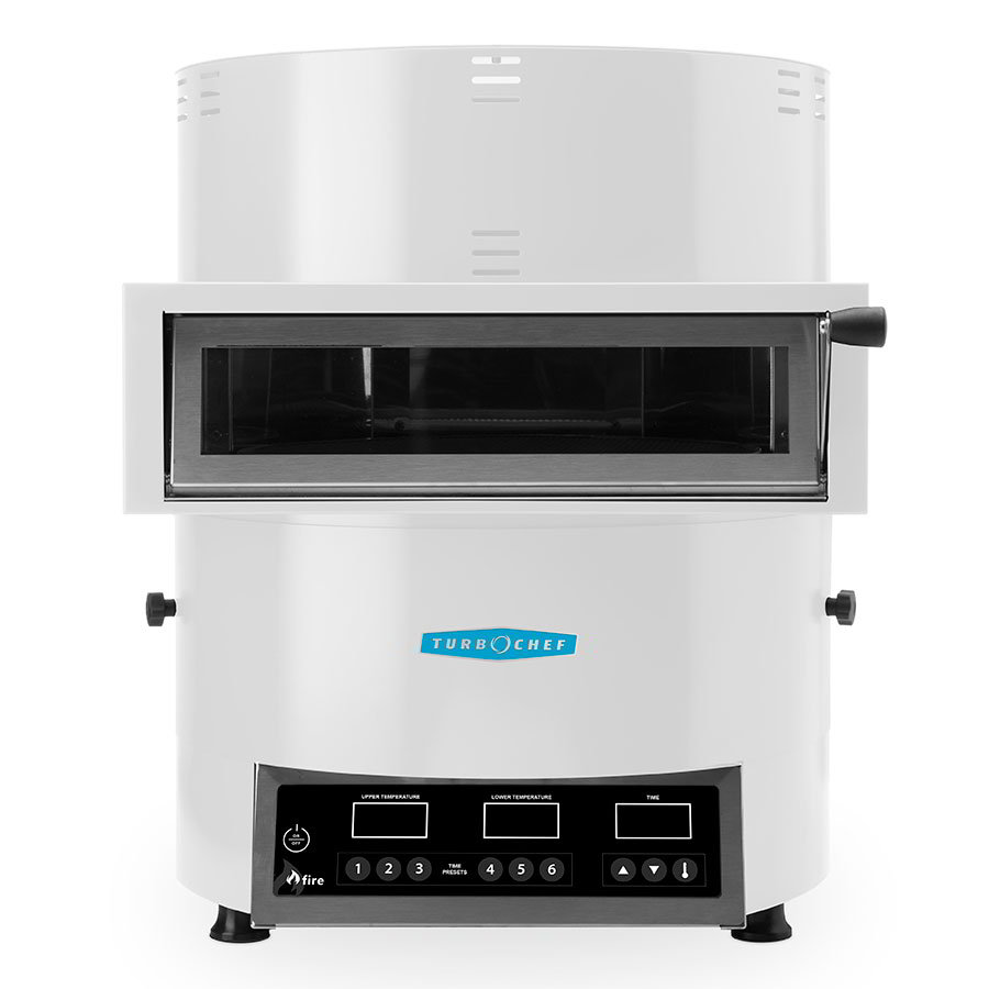 TurboChef FIRE Countertop Pizza Oven - Single Deck, 208-240v/1ph, White