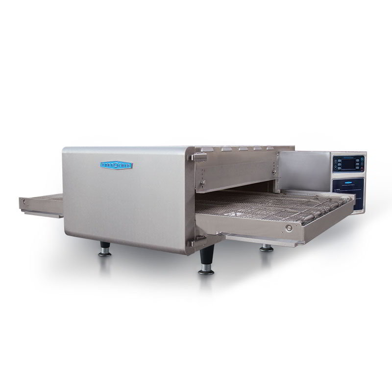 "TurboChef HHC2620 STD-SP 48"" Countertop Conveyor Oven, Rapid Cook, 50/50 Split Belt, 208v/3ph"