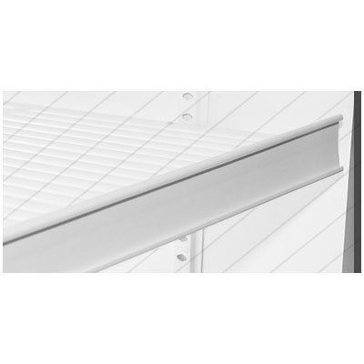 "True 812143 Pricing Strip, 1-11/16""H for TAC48 Wire Shelves"