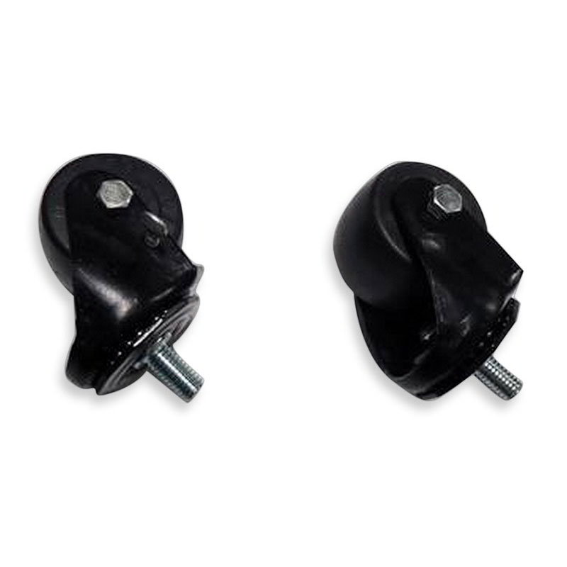 "True 830276 2.5"" Casters w/ (3) Locking & (3) Non-Locking, Black"