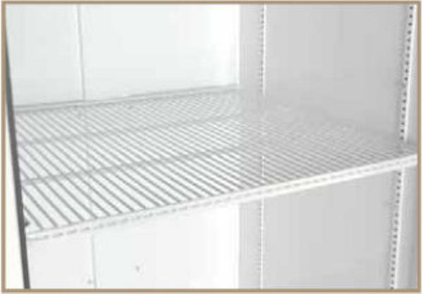 True 979569 PVC Coated Wire Shelf for True TBB2, TBB3 & TBB4 Series Coolers (left side)