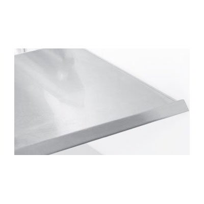 "True 871788 Stainless Mezzanine Shelf, 11-7/8""w/out Light Assembly for TDBD722 & TDBD724"