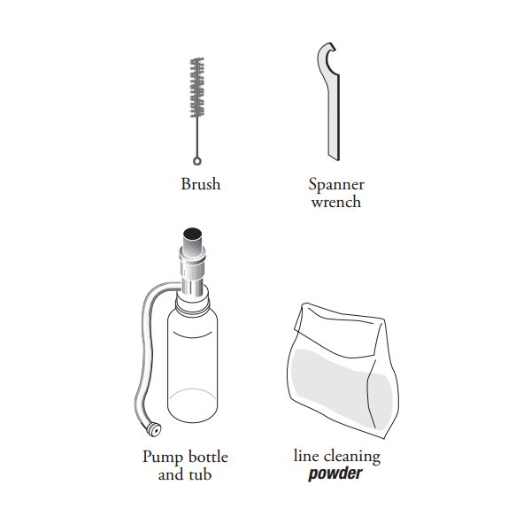 True 873132 Cleaning Kit for Draft Standard