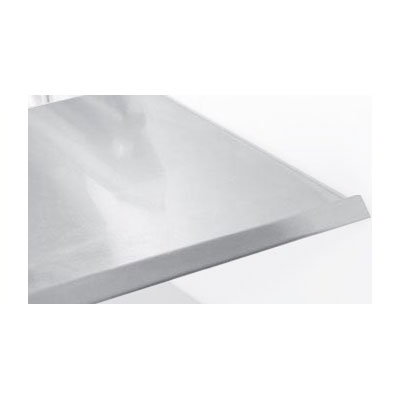 True 874076 S/S Mezzanine Shelf, 14 in, Without Light Assembly, For TDBD722 & TDBD724