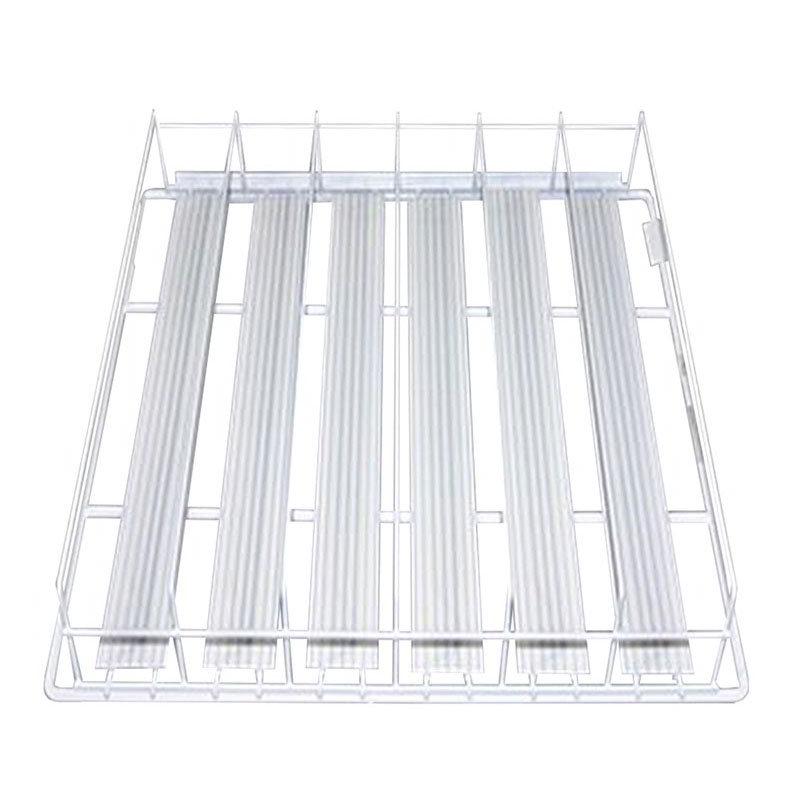 True 876260 TrueTrac 4 Shelf Organizer, Holds 12 oz. Cans, for GDM33 & GDM35