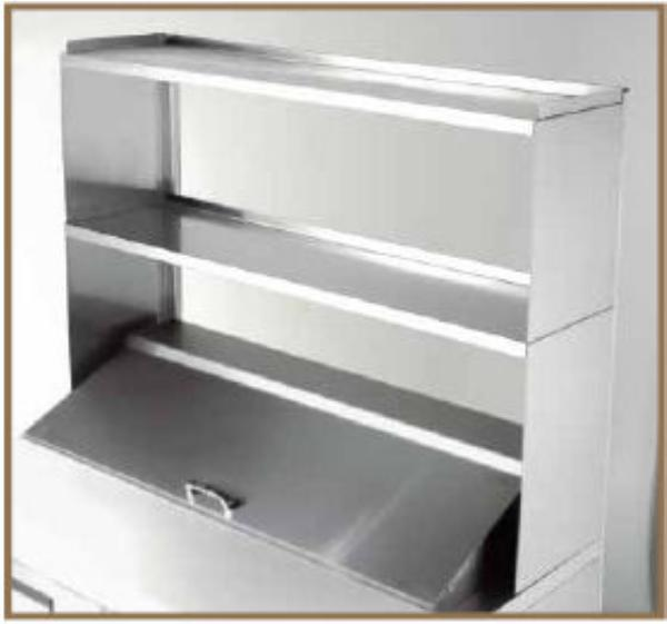 True 914981 Double Over Shelf, 27-5/8 in x