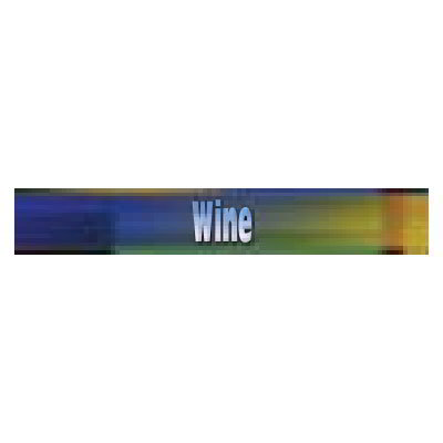 True 883959 Sign, Wine, Blue & Green, for GDM23RF