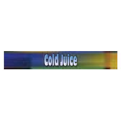 TRUE Refrigeration 883997 Sign Cold Juice Blue & Green for GDM26RF Restaurant Supply