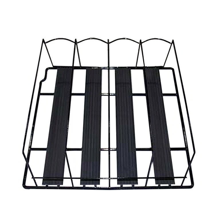 True 913058 TrueTrac Shelf Organizer, Holds 1 Liter or Wine Bottles, for Left Side