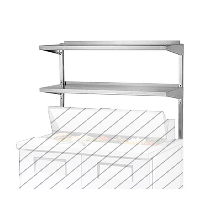 "True 914983 Double Utility Shelf, 48-3/4"" X 16"" X 33""H for TUC/TSSU48 & TUC/TSSU48M"