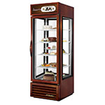 "True G4SM-23-LD BRZ 28"" Self Service Bakery Case w/ Straight Glass - (5) Levels, Bronze, 115v"