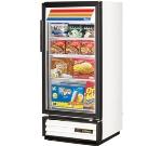 "True GDM-10F-LD 24.88"" One-Section Display Freezer w/ Swinging Door - Bottom Mount Compressor, 115v"