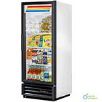 "True GDM-12-LD 25"" One-Section Refrigerated Display w/ Swing Door, Bottom Mount Compressor, 115v"