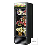 True GDM-23FC-HC-LD 1-Section Floral Cooler w/ Swinging Door - White, 115v