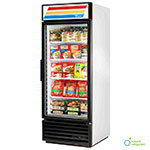 "True GDM-26-LD 30"" One-Section Refrigerated Display w/ Swing Door, Bottom Mount Compressor, White, 115v"