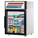 "True GDM-05-LD 24"" Countertop Refrigerator w/ Front Access - Swing Door, White, 115v"
