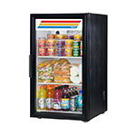 "True GDM-06-LD BK 20"" Countertop Refrigerator w/ Front Access - Swing Door, Black, 115v"