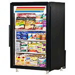 "True GDM-7-LD 24"" Countertop Refrigerator w/ Front Access - Swing Door, Black, 115v"