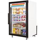 "True GDM-7-LD 24"" Countertop Refrigeration w/ Front Access - Swing Door, White, 115v"