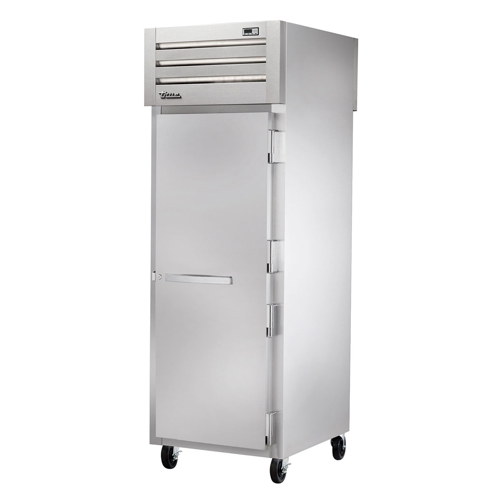 "True STA1FPT-1S-1S 27.5"" Single Section Pass-Thru Freezer, (1) Solid Door, 115v"