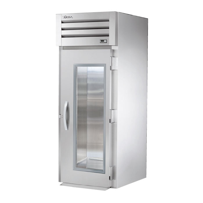 "True STA1RRI-1G 35"" Single Section Roll-In Refrigerator, (1) Glass Door, 115v"