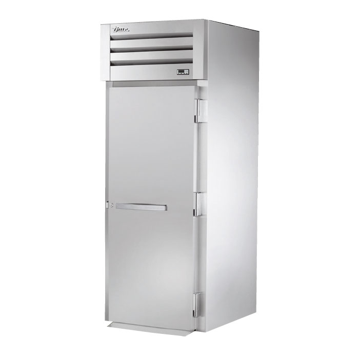 "True STA1RRI-1S 35"" Single Section Roll-In Refrigerator, (1) Solid Door, 115v"