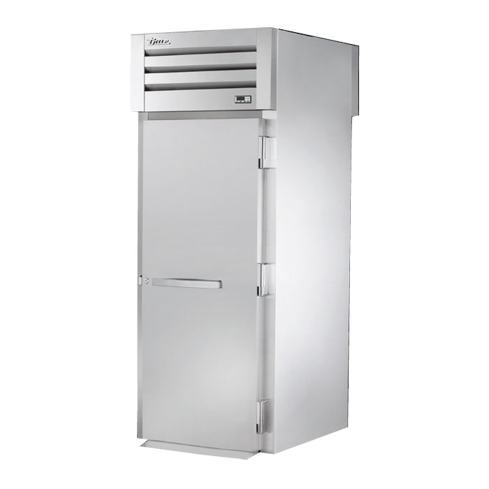 "True STA1RRT-1S-1S 35"" Single Section Reach-Thru Refrigerator, (1) Solid Door, 115v"