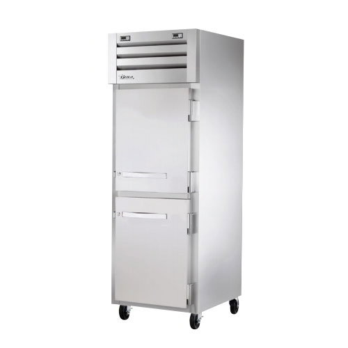 "True STG1DT-2HS 28"" One Section Commercial Refrigerator Freezer - Solid Doors, Top Compressor, 115v"