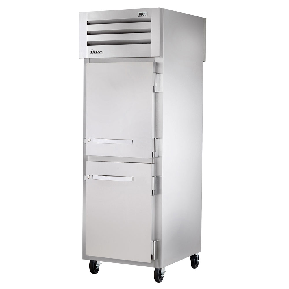 "True STG1F-2HS 27.5"" Single Section Reach-In Freezer, (2) Solid Door, 115v"