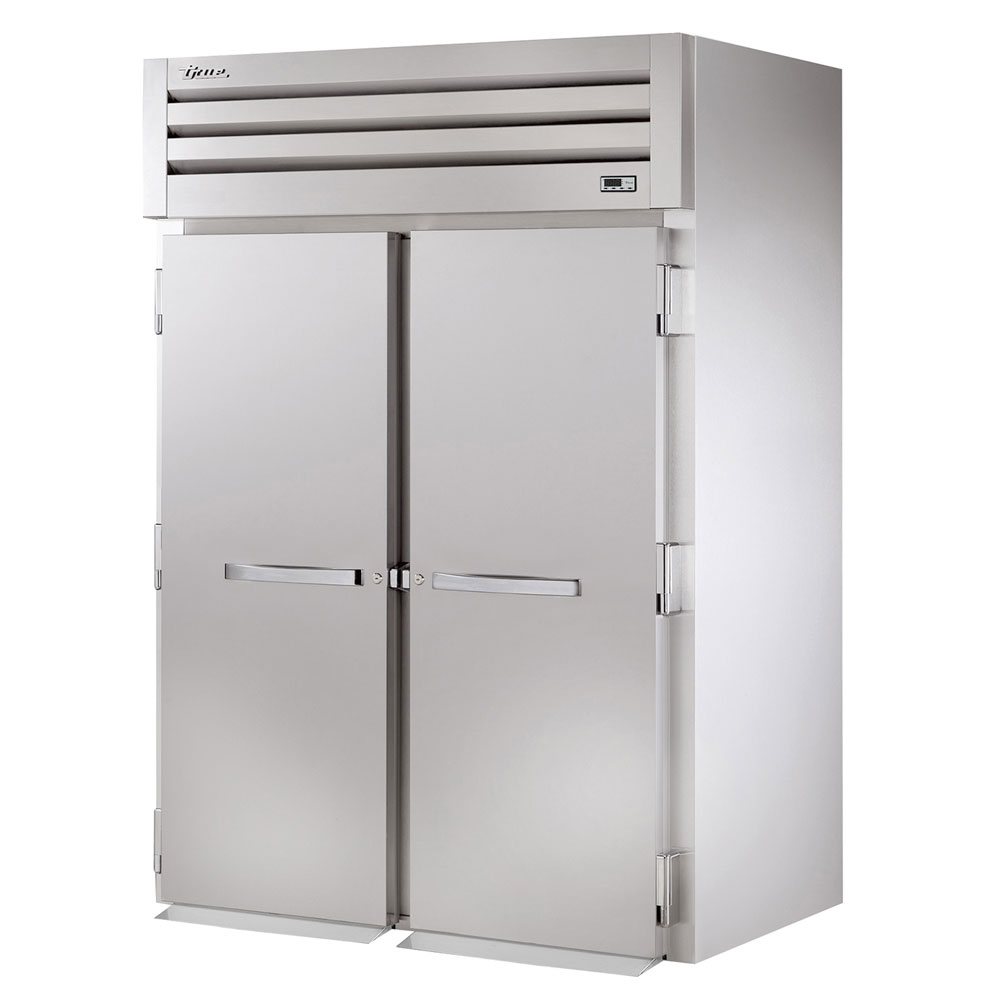 "True STG2FRI-2S 68"" Two Section Roll-In Freezer, (2) Solid Door, 115/208-230v/1ph"