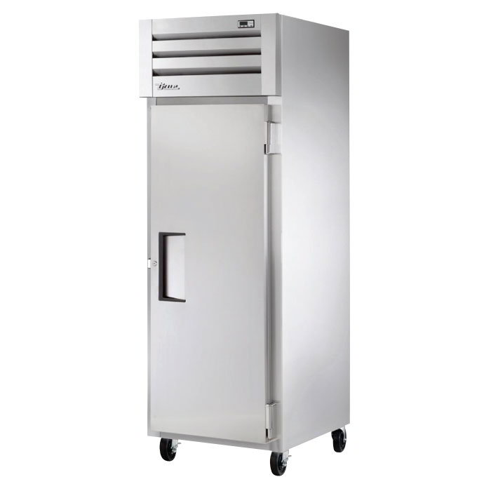 "True STM1R-1S 28"" Single Section Reach-In Refrigerator, (1) Solid Door, 115v"