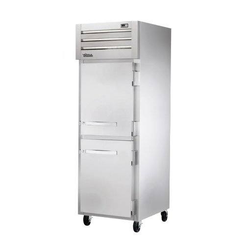 "True STR1F-2HS-HC 27.5"" Single Section Reach-In Freezer, (2) Solid Doors, 115v"