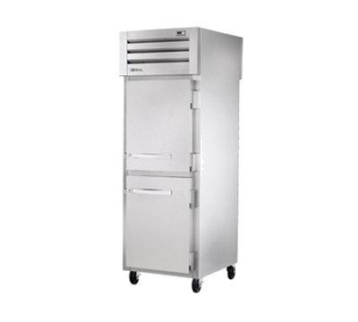 "True STR1FPT-2HS-2HS 27.5"" Single Section Pass-Thru Freezer, (2) Solid Door, 115v"