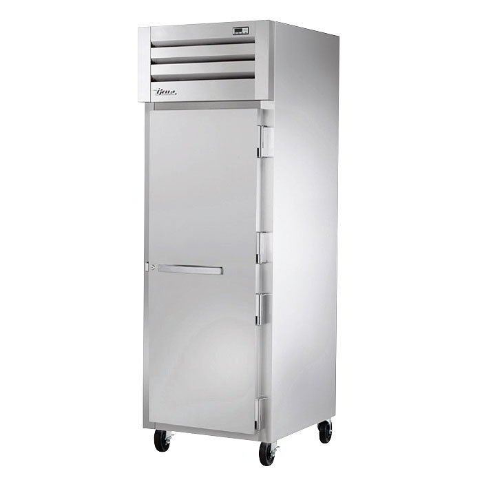 "True STR1R-1S 28"" Single Section Reach-In Refrigerator, (1) Solid Door, 115v"