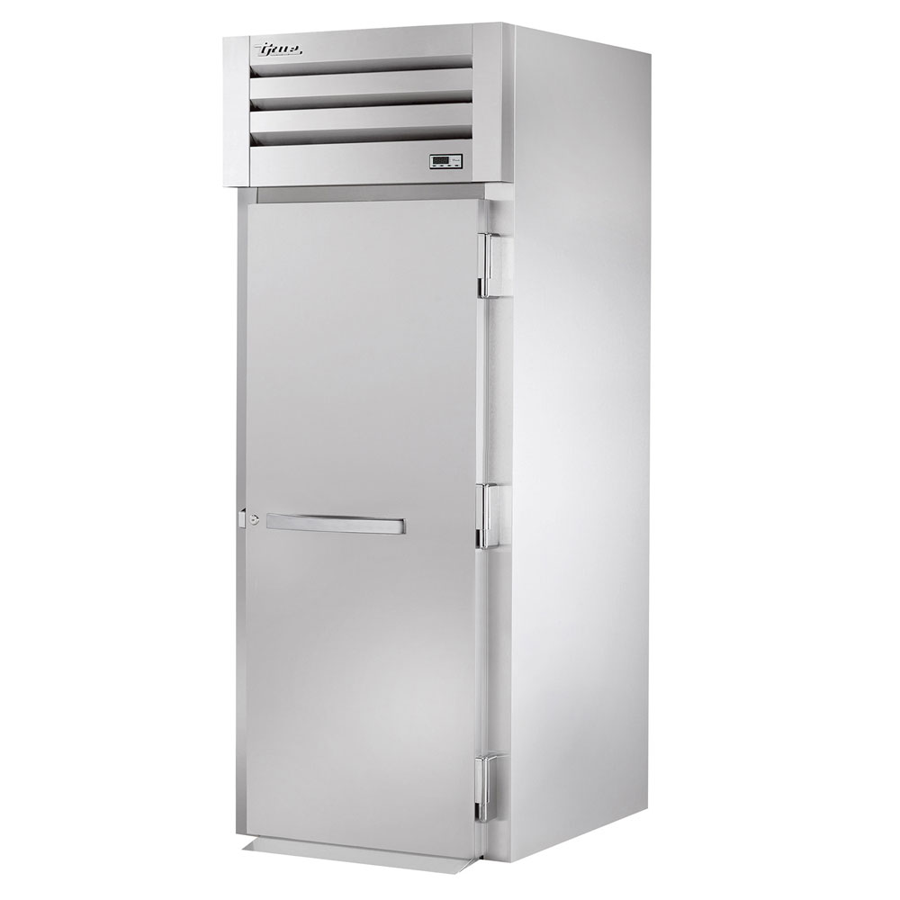 "True STR1RRI89-1S 35"" Single Section Roll-In Refrigerator, (1) Solid Door, 115v"