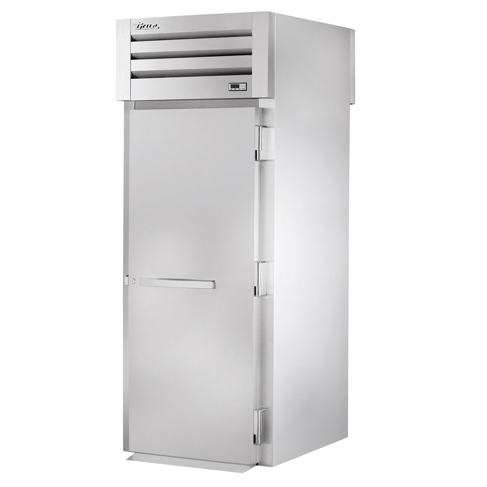 "True STR1RRT89-1S-1S 35"" Single Section Roll-Thru Refrigerator, (1) Solid Door, 115v"