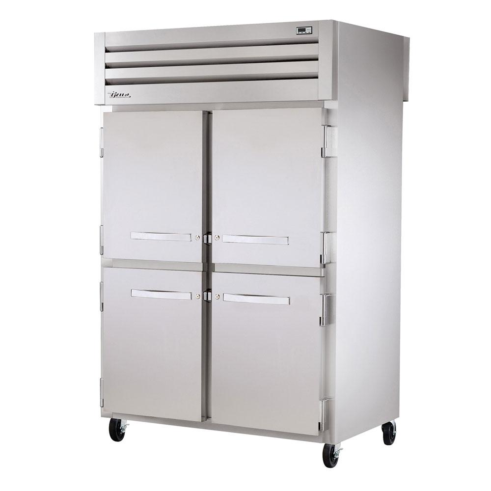 """True STR2HPT-4HS-4HS 52.63"""" Full Height Mobile Heated Cabinet w/ (6) Shelves, 115v"""