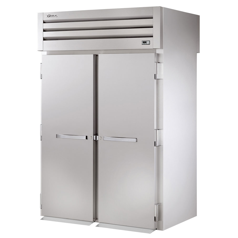 "True STR2RRI89-2S 68"" Two Section Roll-In Refrigerator, (2) Solid Door, 115v"
