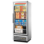 "True T-12FG-LD 24.88"" One-Section Display Freezer w/ Swinging Door - Bottom Mount Compressor, 115v"