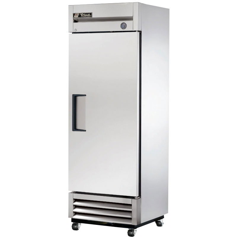 "True T-19F 27"" Single Section Reach-In Freezer, (1) Solid Door, 115v"
