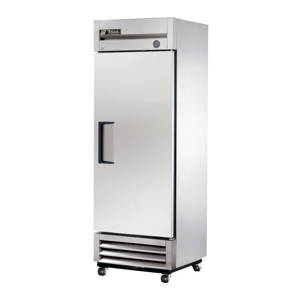 "True T-19FZ LH 27"" Single Section Reach-In Freezer, (1) Solid Door, 115v"