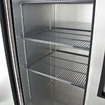 "True T-49-HC 55"" Two Section Reach-In Refrigerator, (2) Solid Door, 115v"