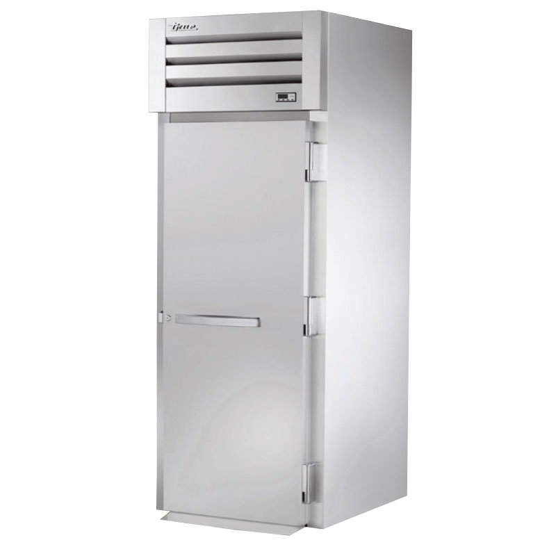 "True STA1HRI-1S 35"" Roll-In Heated Cabinet - 1-Section, Solid Full Door, Stainless 115/208-230v"