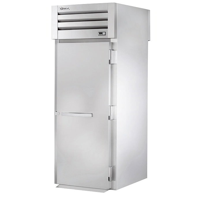 "True STA1RRT89-1S-1S 35"" Single Section Roll-In Refrigerator, (1) Solid Door, 115v"