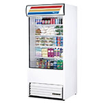 "True TAC-36-LD WHT 36"" Vertical Open Air Cooler w/ (5) Levels, White, 208-230v/1ph"