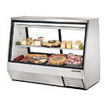 "True TDBD-72-2 72"" Full Service Deli Case w/ Straight Glass - (2) Levels, 115v"