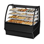 "True TDM-DC-48-GE/GE-S-S 48.25"" Full-Service Dry Bakery Case w/ Curved Glass - (4) Levels, 115v"