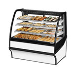 "True TDM-DC-48-GE/GE-S-W 48.25"" Full-Service Dry Bakery Case w/ Curved Glass - (4) Levels, 115v"