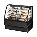 "True TDM-DZ-48-GE/GE-S-S 48.25"" Full-Service Dual-Zone Bakery Case w/ Curved Glass - (4) Levels, 115v"
